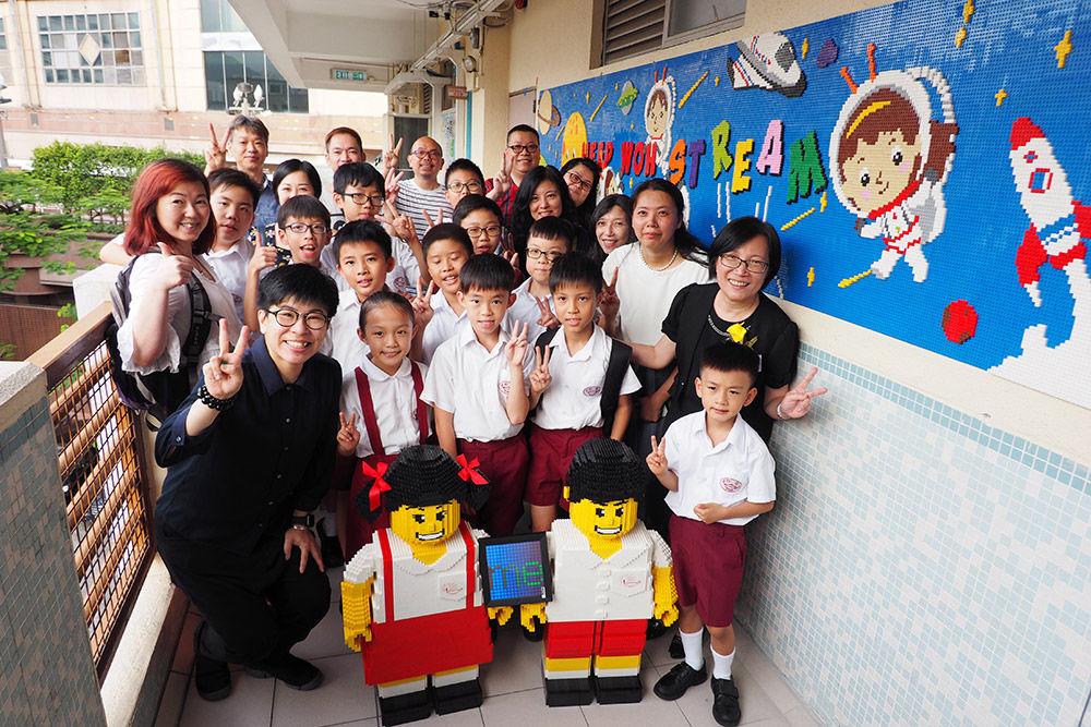 中華基督教會協和小學積木牆畫